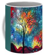 Greeting The Dawn By Madart Coffee Mug by Megan Duncanson