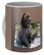 Grizzly Bear 6 Out Of Bounds Coffee Mug by Thomas Woolworth