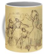 Group Of Dancers Coffee Mug by Edgar Degas