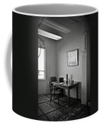 Guard Dining Area In Alcatraz Prison Coffee Mug by RicardMN Photography