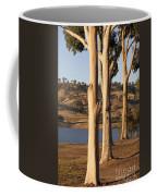 Guardians Of The Lake Coffee Mug by Linda Lees