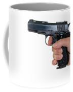 Gun Safety Coffee Mug by Charles Beeler