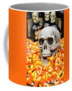 Halloween Candy Corn Coffee Mug by Edward Fielding