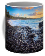 Hana Bay Sunrise Coffee Mug by Inge Johnsson
