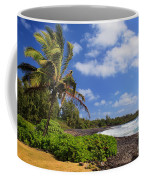 Hana Beach Coffee Mug by Inge Johnsson