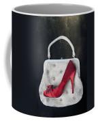 Handbag With Stiletto Coffee Mug by Joana Kruse