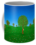 Happy Walking Tree Coffee Mug by Gianfranco Weiss