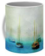 Harbor Fog Coffee Mug by Darren Fisher