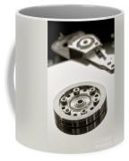 Hard Drive Coffee Mug by Olivier Le Queinec