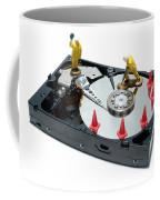 Hard Drive Repair Coffee Mug by Olivier Le Queinec