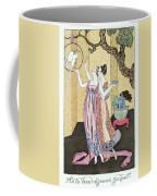 Have You Had A Good Dinner Jacquot? Coffee Mug by Georges Barbier