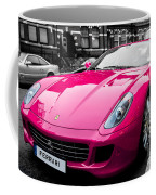 Her Pink Ferrari Coffee Mug by Matt Malloy