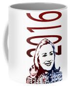 Hillary 2016 Coffee Mug by Jost Houk