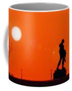 Holocaust Memorial - Sunset Coffee Mug by Nishanth Gopinathan