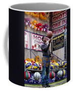 Hoop Shots Coffee Mug by Rory Sagner