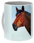 Horse Head Coffee Mug by Mike Jory