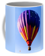 Hot Air Ballooning In Vermont Coffee Mug by Edward Fielding