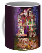 House Of Cards Coffee Mug by Ciro Marchetti