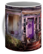House - Porch - Cranford Nj - Lovely In Lavender  Coffee Mug by Mike Savad