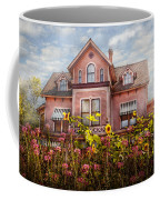 House - Victorian - Summer Cottage  Coffee Mug by Mike Savad
