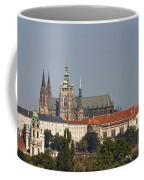Hradcany - Cathedral Of St Vitus On The Prague Castle Coffee Mug by Michal Boubin