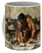 I Adore You Coffee Mug by Kurt Van Wagner