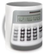 I Need Money Coffee Mug by Michal Boubin