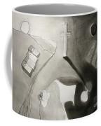 If Not Left In Gods Hands Coffee Mug by Peter Piatt