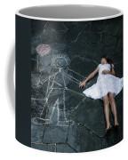 Imaginary Friend Coffee Mug by Joana Kruse