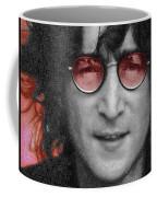 Imagine John Lennon  Coffee Mug by Tony Rubino