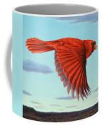 In Flight Coffee Mug by James W Johnson
