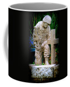 In Honor Of The Wounded Warrior Coffee Mug by Kay Novy