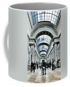 In The Louvre  Coffee Mug by Marianna Mills