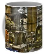 In The Ship-lift Engine Room Coffee Mug by Heiko Koehrer-Wagner