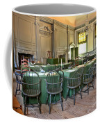 Independence Hall Coffee Mug by Olivier Le Queinec
