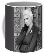 Intrigue Bw Fashion Coffee Mug by William Dey