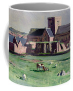 Iona Abbey From The Northwest Coffee Mug by Francis Campbell Boileau Cadell