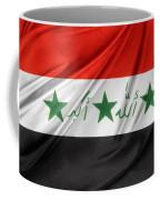Iraq Flag Coffee Mug by Les Cunliffe
