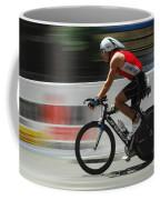 Ironman Flying Coffee Mug by Bob Christopher