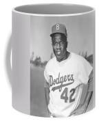 Jackie Robinson Poster Coffee Mug by Gianfranco Weiss