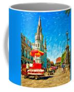 Jackson Square Painted Version Coffee Mug by Steve Harrington