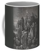 Jacob Goeth Into Egypt Coffee Mug by Gustave Dore