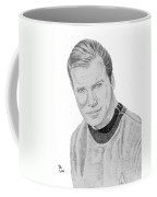 James Tiberius Kirk Coffee Mug by Thomas J Herring