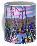 Jammin At Twilight Coffee Mug by Kurt Van Wagner