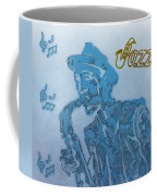 Jazz Saxophone Coffee Mug by Dan Sproul
