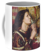 Joan Of Arc Kisses The Sword Of Liberation Coffee Mug by Philip Ralley