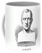 Johann Kaspar Spurzheim Coffee Mug by Granger