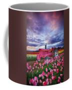 John Deere Pink Coffee Mug by Darren  White