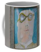 John's Dad Seeing Babies Born - Framed Coffee Mug by Nancy Mauerman