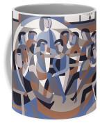 Jordan Quaker Meeting 2 Coffee Mug by Ron Waddams